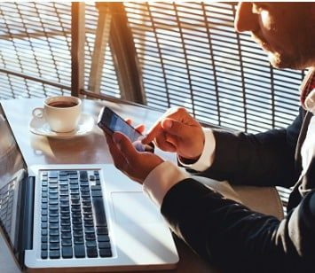 businessman-checking-email-on-smartphone